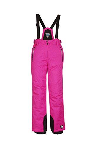 Killtec Mädchen Danya Junior Ski Und Snowboardhose, Neon Pink Melange, 164