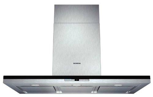 Siemens LC91BB552 iQ700 Wandhaube / 90,0 cm / Die Lüfterleistung von 690 m3/h sorgt für frische Luft beim Kochen / Edelstahl