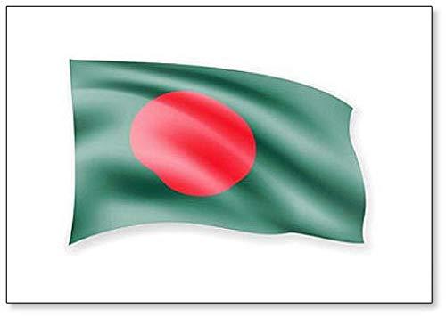 Kühlschrankmagnet, Motiv Waving Bangladesch Flagge