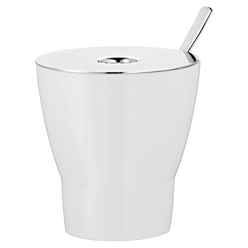 WMF Zuckerdose Barista Höhe 8cm Porzellan Zuckerdose Deckel Löffel