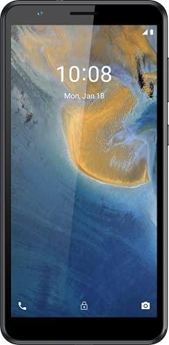 ZTE Smartphone Blade A31 (13,84cm (5,45 Zoll) HD+ Display, 4G LTE, 2GB RAM und 32GB interner Speicher, 8MP Hauptkamera und 2MP Frontkamera, Dual-SIM, Android 11 GO) grau