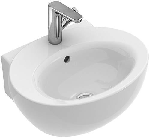 Villeroy & Boch AVEO NEW GENERATION Handwaschbecken ohne Ãœberlauf star white activecare