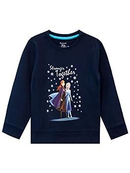 Disney - Sweat-Shirt - La Reine des Neiges - Fille - Frozen - Bleu - 2-3 Ans