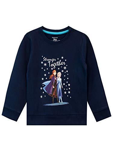 Disney Girls Frozen Sweatshirt Blue Size 6