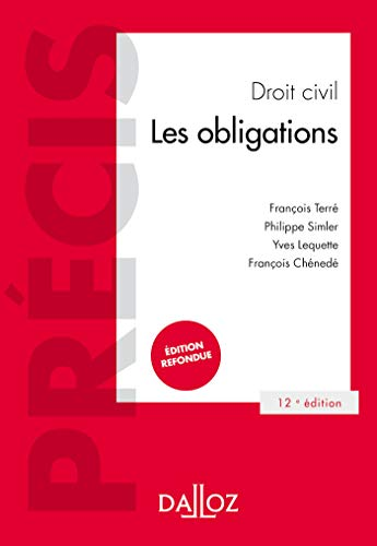 Droit civil Les obligations - 12e ed.