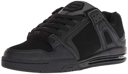 Osiris Mens PXL Skate Shoe, Black, 7 M US