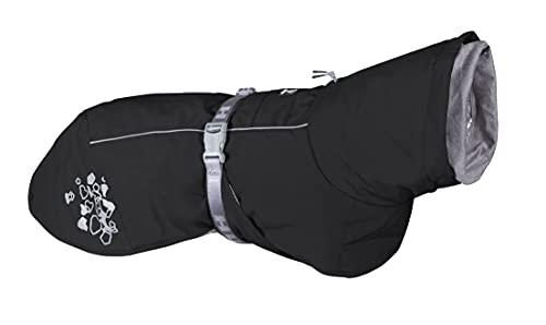 Hurtta Extreme Warmer Hundemantel, Winterjacke für Hunde, BlackBerry Dunkelgrau 40 cm