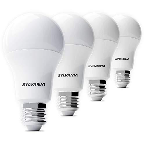Preisvergleich Produktbild Sylvania 4x LED Lampe ToLEDo A60 - Energiesparlampe,  neutralweiß (E-27,  8.5 Watt,  4000K)