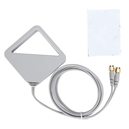 Queen.Y Dual-WLAN-Antennenkabelverlängerung WLAN 2. 4 / 5Ghz 1. 1 M Hochverstärktes Externes Kabel für WLAN-Router PC WLAN-Adapter WLAN-Router Mobiler Hotspot