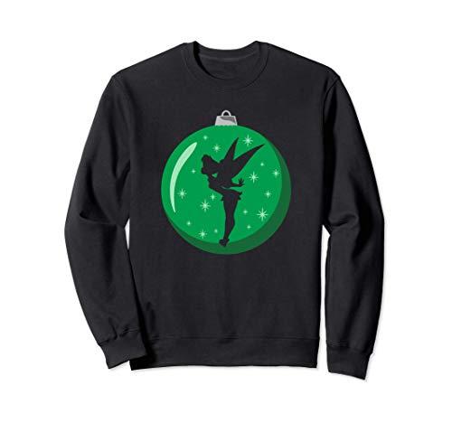 Disney Holiday Tinker Bell Tree Ornament Green Sweatshirt