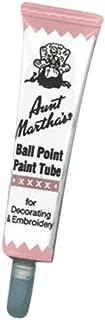 Aunt Martha's Ballpoint Paint Tubes 1 Ounce-Pink