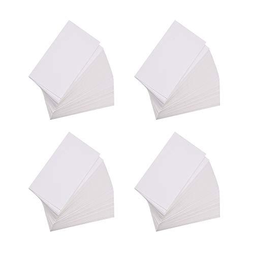 NBEADS 100 Stück Ohrring Displaykarten, Schmuck Displaykarten Ohrring Karte Blanko Papier Tags für DIY Ohrstecker und Ohrringe