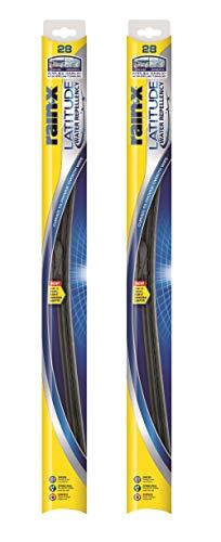 Rain-X - 810168 Latitude Water Repellency Wiper Blade, 28 - 2 Pack