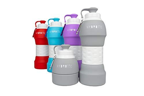 HYDROTIC Faltbare Trinkflasche 580ml (Light Grey)