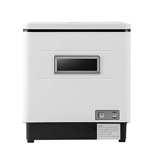 Lave-Vaisselle Compact Mini Lave-Vaisselle Lavage 360°, Séchage UV Haute Température Économie d'eau Grille À Vaisselle Amovible - pour Cuisine