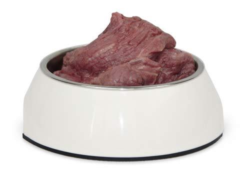 Barfpaket Pferd, 10 kg, Pferdefleisch in großen Stücken, artgerechtes Tiefkühlfutter, natürliche Ernährung mit Barf, gefrorenes Hundefutter zum Barfen