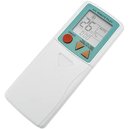 BeMatik - Mando a Distancia Universal. Control Remoto para Aire Acondicionado, calefacción y climatización 148x56x14 mm