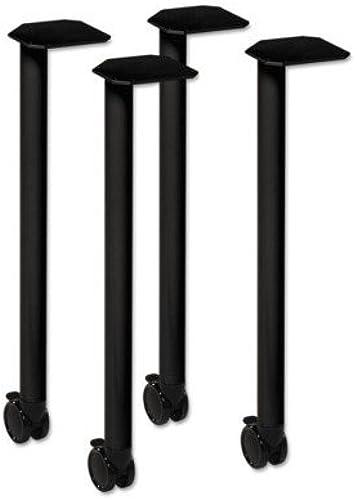 100% garantía genuina de contador HON Huddle Series Post Leg Base Base Base with Casters, 1-3 4w x 1-3 4d x 28 3 8h, negro by HON  solo para ti
