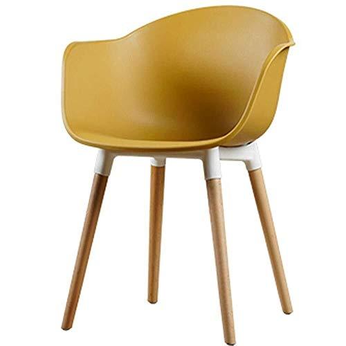 LIUSHENGFUBH Sillas de Comedor Silla de Comedor Silla de Ocio en casa de Nuevo Presidente de diseñador de Moda Creativa (Color : D)