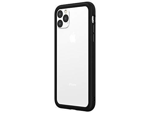 RhinoShield iPhone 11 Pro Max CrashGuard NXバンパーケース - 3.5mの落下衝撃からも保護 背面のないスタイリッシュデザイン - ブラック