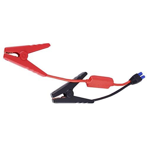 Ymxcwer85851 Cable de Emergencia Cable de batería Clip de Abrazadera de cocodrilo para Camiones de automóviles Arrancador de Salto (Rojo + Negro)