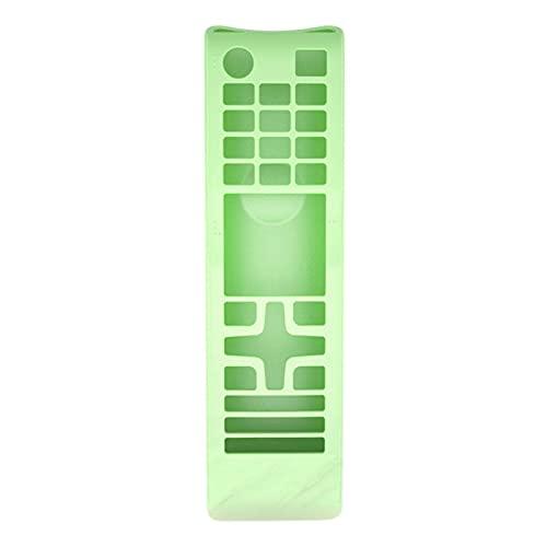 sfadf - Funda de protección con mando a distancia para Samsung TV, silicona ligera y antigolpes, compatible con BN59 AA59 Glow Blue/Glow Green