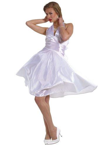 Cesar kostuum - Marilyn Monroe - kleerhanger 38/40 cm wit
