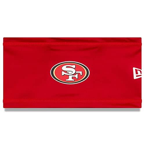New Era Men's Red San Francisco 49ers 2020 NFL Summer Sideline Official Headband