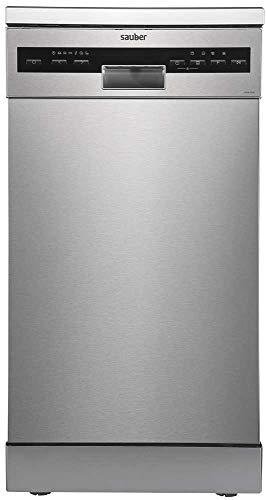 Sauber - Lavavajillas 45 cm SDW455I A++ 10 cubiertos - Inox - 3 bandejas