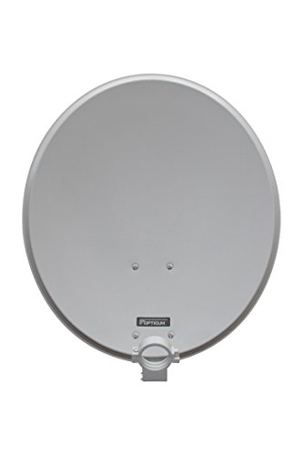Antena de satélite opticum QA60 de Aluminio (60 cm) de Color Gris Claro