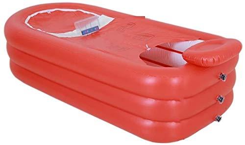 Pierenbad Opblaasbare badkuip, dubbele badkuip Household volwassen plastic bad vat Opvouwbare rubberboot bad bad (color: # 1) (Color : #2)