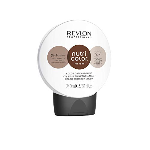 REVLON PROFESSIONAL Nutri Color Filters #524 Coppery Pearl Brown 240 ml
