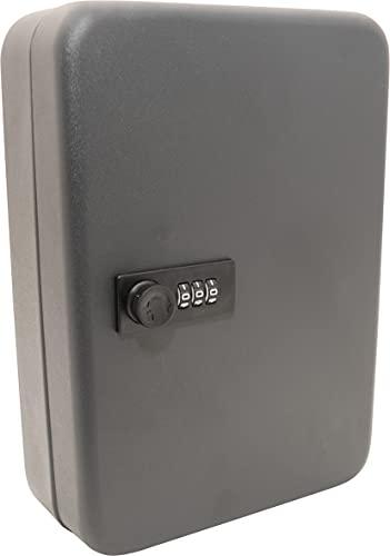 Caja de almacenamiento de llaves combinada de 3 dígitos con 48 ganchos