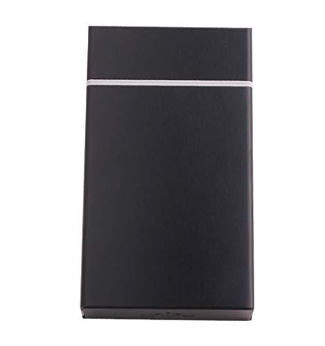 GOLOFEA Tonerkartusche, Zigarettenetui (16–20 Kapazität), stabiles Zigarettenetui aus Metall, tragbare Damen-Zigarettenetui, umweltfreundlicher Laserdrucker