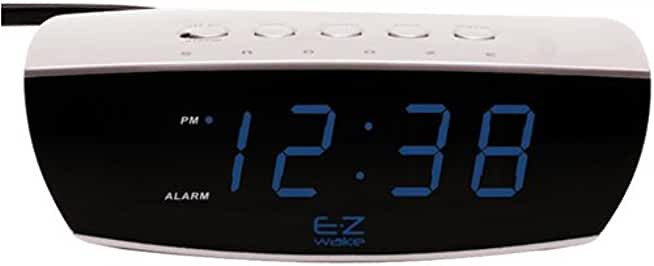 "Equity by La Crosse 0.9"" LED Digital Desktop Alarm Clock"