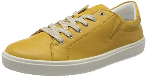 Remonte Damen D1402 Sneaker, Gelb (Gelb 68), 42 EU