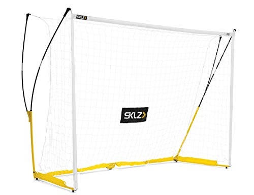 SKLZ-001 Q12P scopo di calcio, giallo/nero, 3,60 x 1,80 m