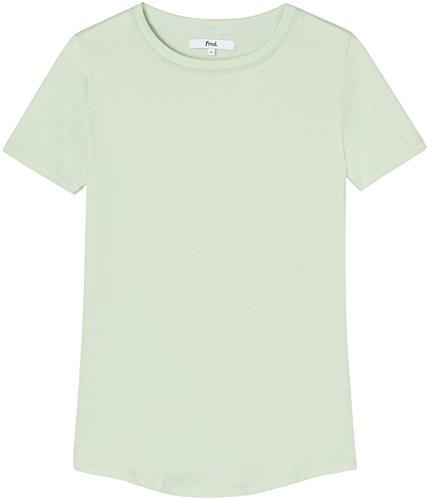 find. Camiseta para Mujer, Verde pistacho, 40 (Talle Fabricante: Medium)