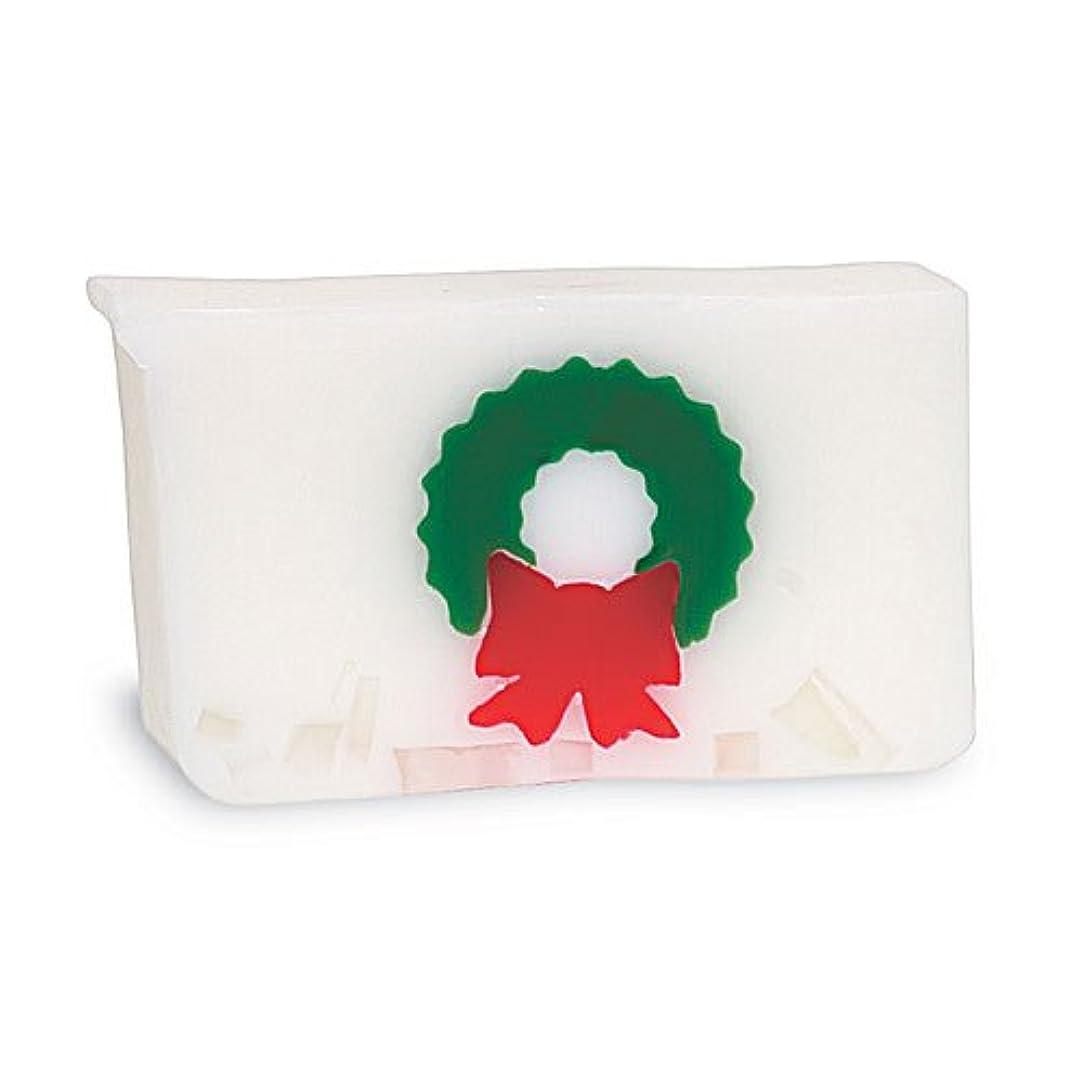 農業のワックス足音プライモールエレメンツ アロマティック ソープ クリスマスリース 180g 植物性 ナチュラル 石鹸 無添加