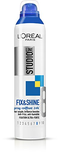 L'Oréal Paris Studio Line Fix&Shine Spray Coiffant 24H Fixation Ultra-Forte 300 ml