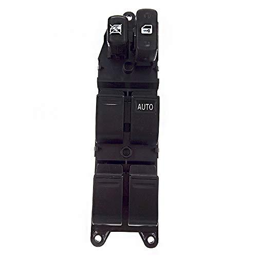 MTREW Interruptor de la Ventana Interruptor de Control Maestro de Ventana 84820-12350 Compatible con Toyota Corolla Starlet EP91 EP95 Sprinter 84820 12350
