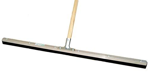 BawiTec Profi Wasserschieber 100 cm mit Stiel XXL-Gummischieber Industrie Abzieher Schieber (Stiel 160cm)