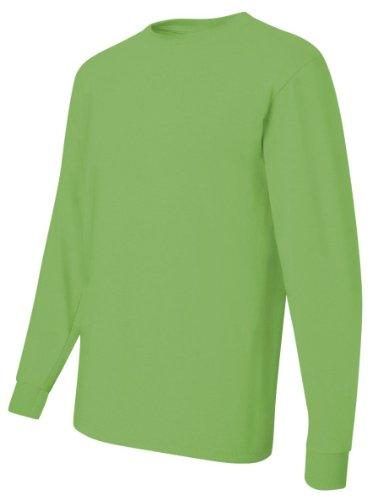 Jerzees 29L 5.6 G 50/50 T-shirt à manches longues pour homme - Vert - XX-Large