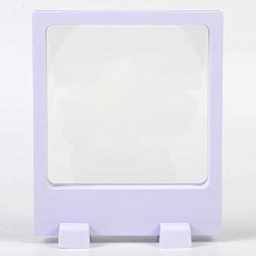 BANMYZZ Klar Film 3D Schwimmrahmen Schmuck Bild Geschenk Display Box 110 * 130mm for Jade Crafts Proben USB Disk Schere Uhren (Color : A)