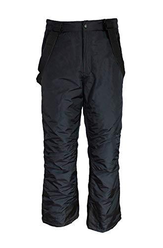 Unbekannt Kinder Jungen Skihose Schneehose Snowboardhose Winterhose - schwarz, 110/116