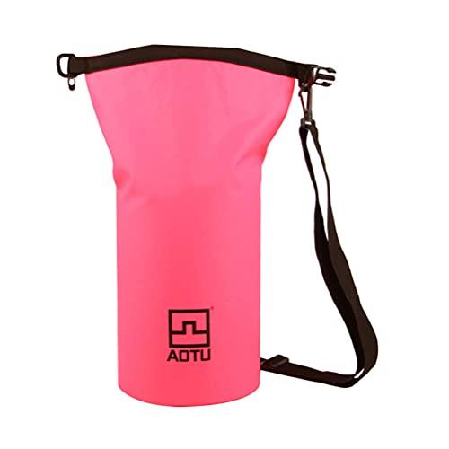 Bolsa de Color Rosa Seco Impermeable para Nadar: Bolsa de Secado Superior para Piragüismo en La Playa