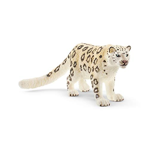 Schleich Wild Life Snow Leopard Educational Figurine for Kids Ages 3-8