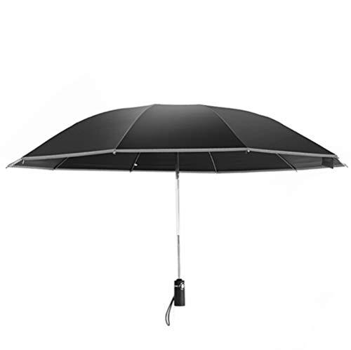 Paraguas inverso automático abierto para abrir hombres y mujeres plegable de negocios...