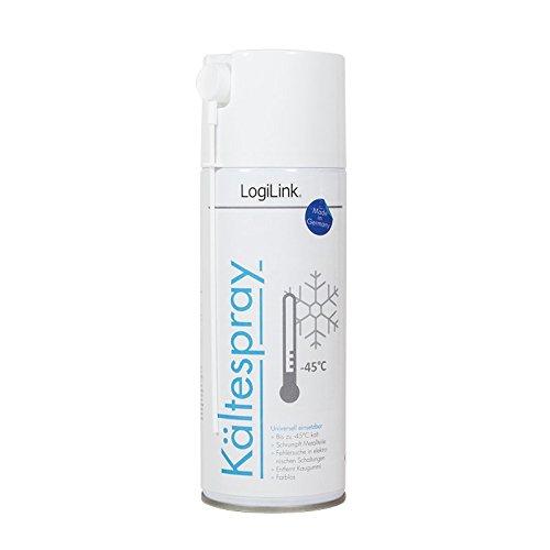 6x LogiLink RP0014 Kältespray (400 ml) zur Fehlersuche in elektronischen Schaltungen farblos