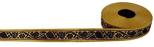 Guru-Shop Orient Bordüre, Webband aus Indien, 2 cm Breit, 1m, Webbänder & Bordüren